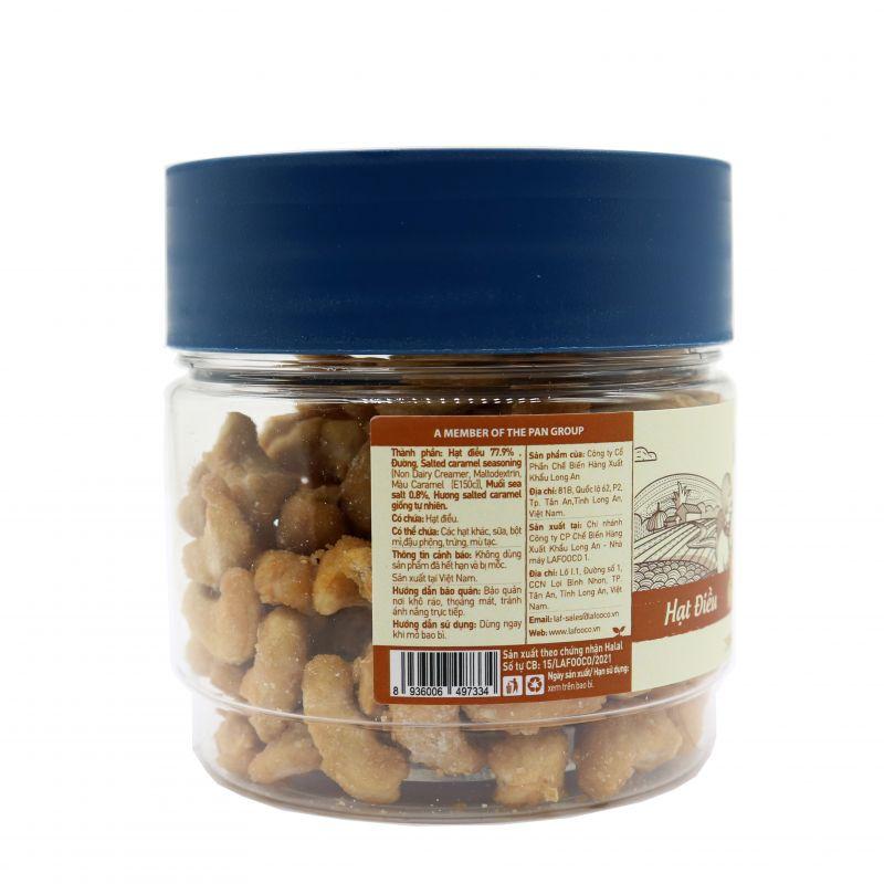 Hạt điều muối biển caramel 200g