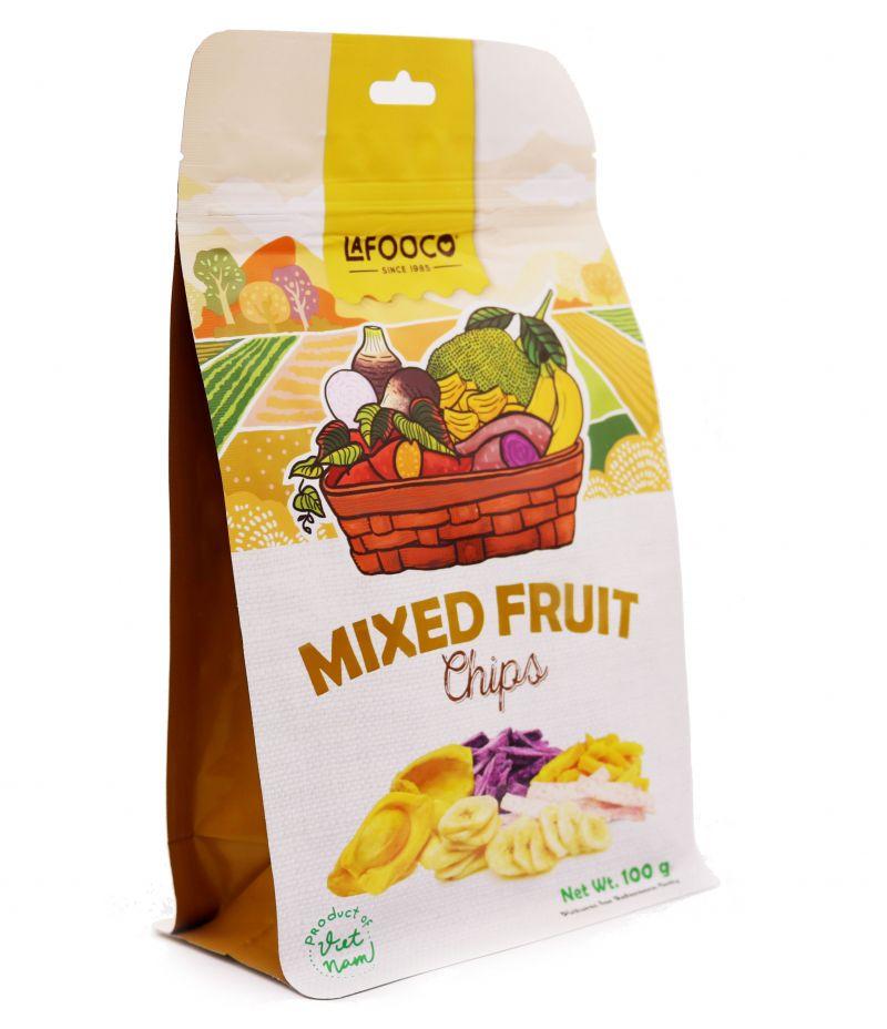 Hỗn hợp trái cây sấy giòn 100g